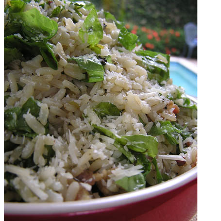 Fragrant rice with parsley