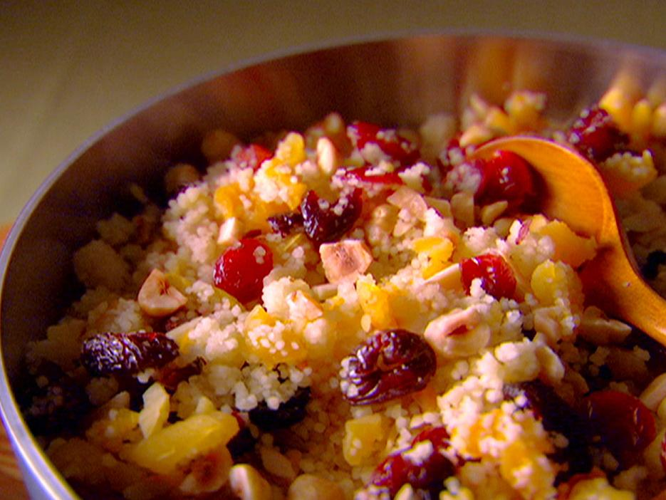 Couscous with Nuts and Orange