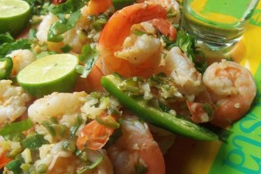 Tequila Lime Shrimp, photo by Sonia Mendez Garcia