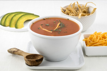 Sopa Azteca, photo by Una Pizca