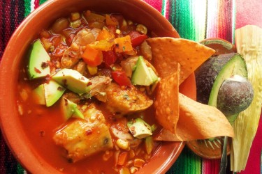 Chicken Tamale Soup, photo by hkadmin
