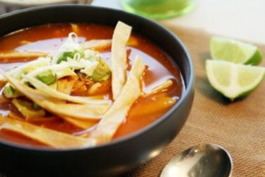 Chicken Tortilla Soup, photo by Yvette Marquez-Sharpnack