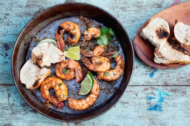 Spicy Cilantro Garlic Shrimp, photo by Sonia Mendez Garcia
