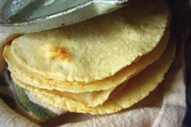 Homemade Corn Tortillas, photo by Sonia Mendez Garcia