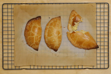 Beer-Infused Empanada Dough, photo by Sonia Mendez Garcia