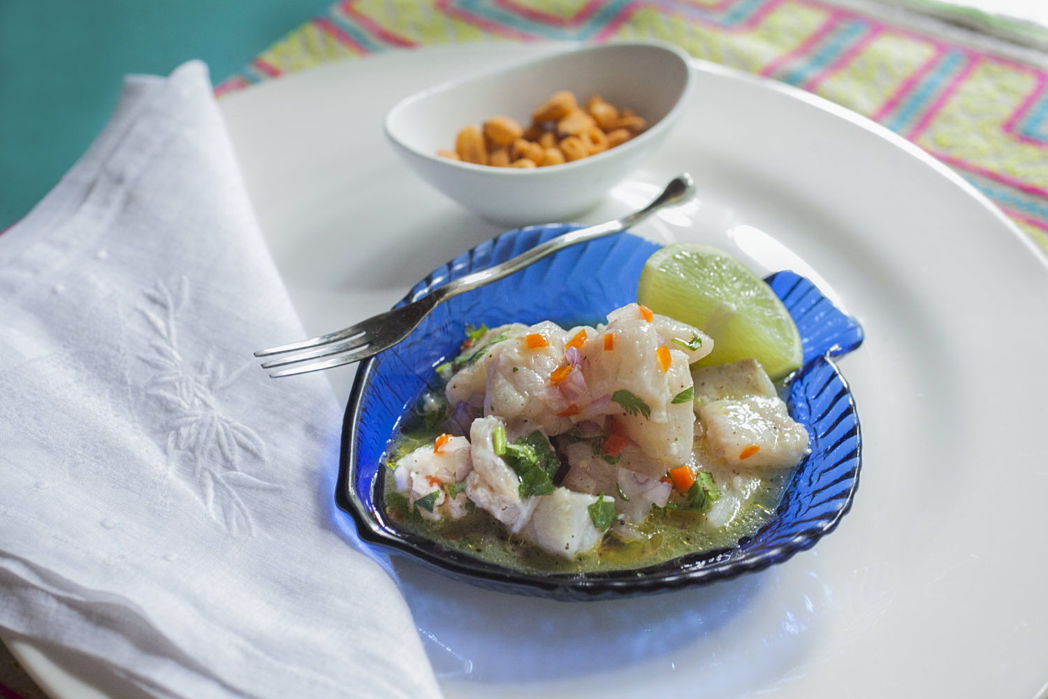 Authentic Peruvian Ceviche Recipe | Fish Ceviche Peruano
