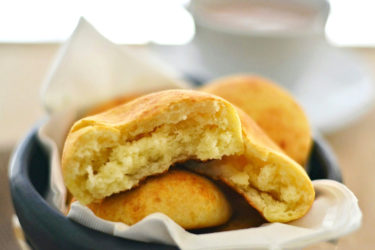 Almojábanas (Colombian Cheese Bread), photo by Sweet y Salado