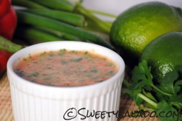 Ají Picante Colombiano (Colombian Hot Sauce), photo by Sweet y Salado