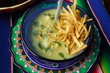 Creamy Avocado Potato Chowder, photo by Sonia Mendez Garcia
