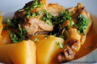 Sudado de Pollo (Colombian Chicken Stew), photo by Sweet y Salado