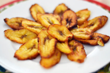 Tajadas (Fried Sweet Plantain Slices), photo by Sweet y Salado