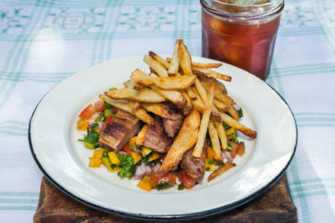 Grilled Beef Ribs with Brazilian-Style Salsa, photo by Sonia Mendez Garcia