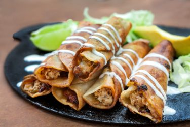 Taquitos de Atún (Tuna Tacos), photo by Santiago Gomez de la Fuente