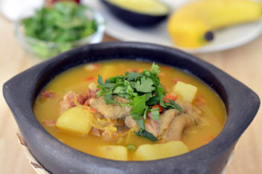 Colombian Mondongo (Beef Tripe Stew), photo by Sweet y Salado