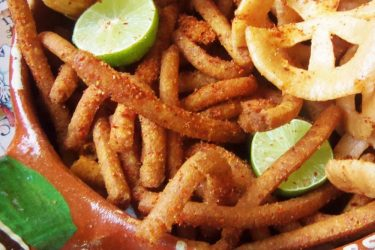 Churritos de Maiz (Crunchy Corn Snacks), photo by Sonia Mendez Garcia