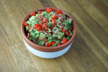 Smoky Bacon Guacamole, photo by Hispanic Kitchen