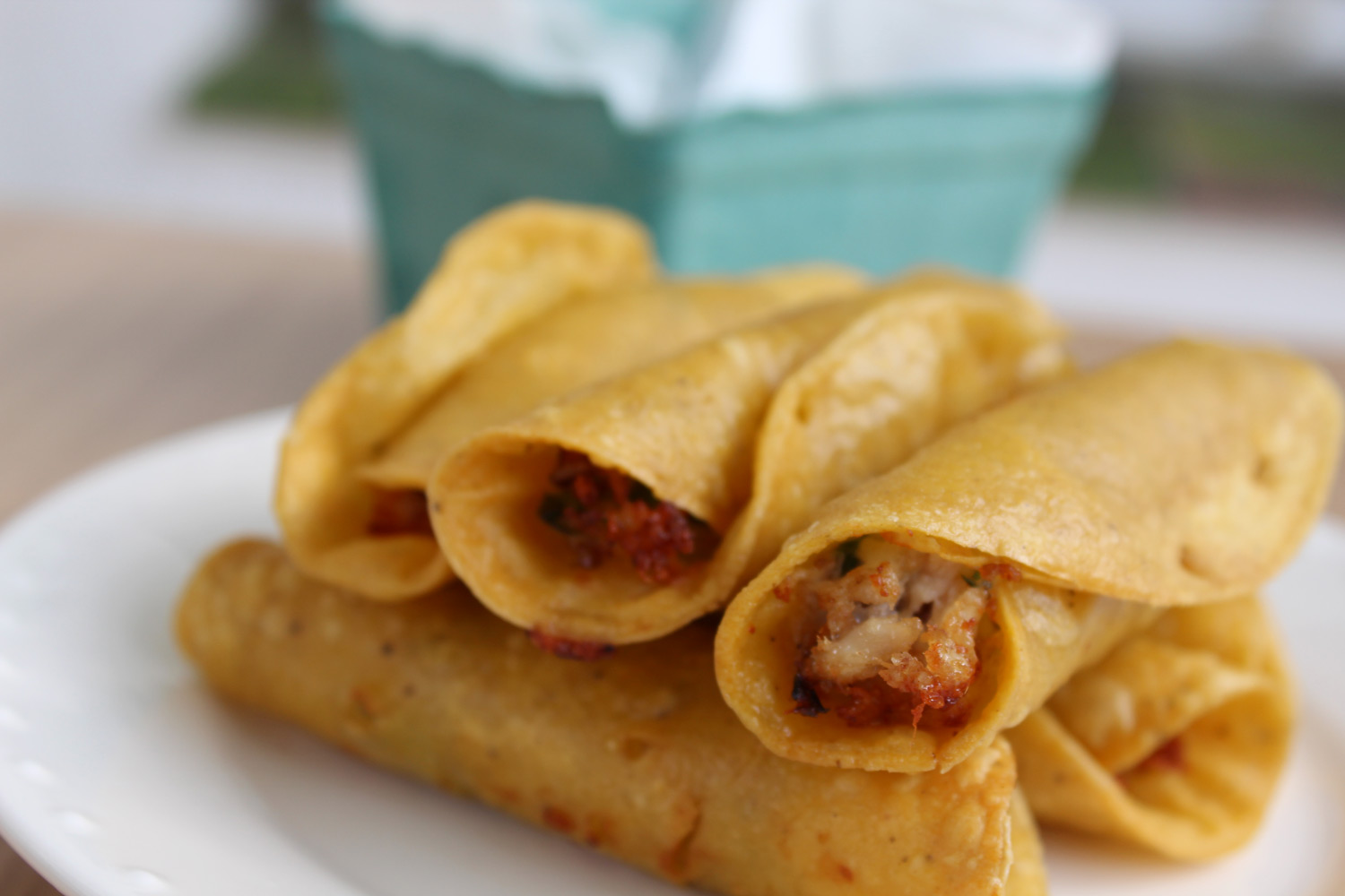 How To Make Chicken Flautas Recipe Authentic Mexican Recipe