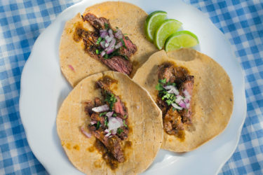 Flank Steak Tacos, photo by Sonia Mendez Garcia
