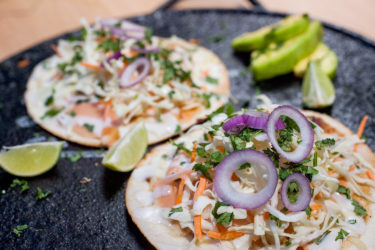 Smoked Salmon Quesadilla, photo by Sonia Mendez Garcia