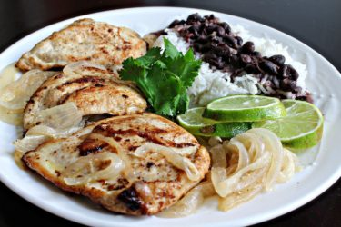 Pollo a la Plancha (Grilled Chicken), photo by Roxy Buil