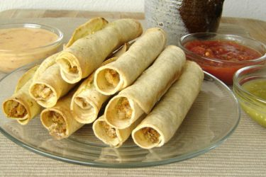 Taquitos with a Twist, photo by Cindy Kennedy