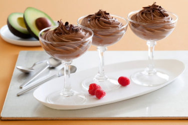 Avocado Chocolate Mousse, photo by Fresh Avocados - Love One Today