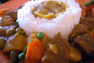 Mami's Carne Guisada (Mom's Puerto Rican Beef Stew), photo by Norma Torres
