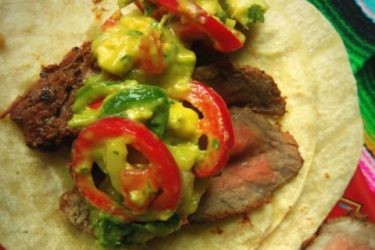 Chipotle-Marinated Steak Tacos, photo by Sonia Mendez Garcia