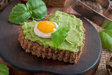 Egg-in-a-Basket Avocado Toast, photo by Hispanic Kitchen