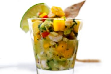 Mango Shrimp Ceviche, photo by Hispanic Kitchen