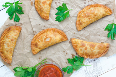 Pepperoni Pizza Empanadas, photo by Vanessa Mota
