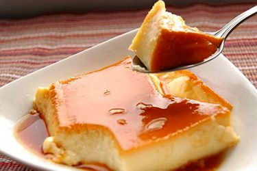 Rustic Flan, photo by Liz Caskey