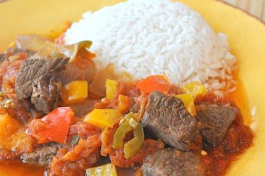 Steak Picado, photo by Cindy Kennedy