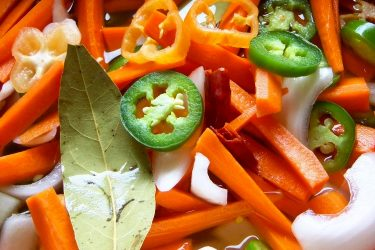 Zanahorias en Escabeche (Spicy Pickled Carrots), photo by Sonia Mendez Garcia