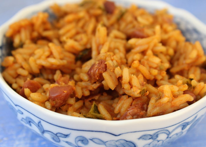 Puerto Rican Rice And Beans Recipe Arroz Con Habichuelas