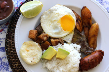 Bandeja Paisa, photo by Fernanda Alvarez