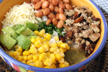 Mexican Turkey Leftover Bowl, photo by Fernanda Alvarez
