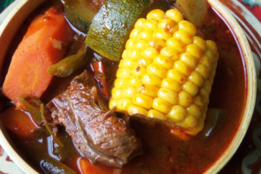 Mole de Olla Soup, photo by Sonia Mendez Garcia