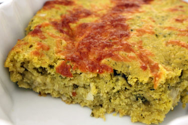 Spicy Tomatillo Cornbread, photo by Hispanic Kitchen