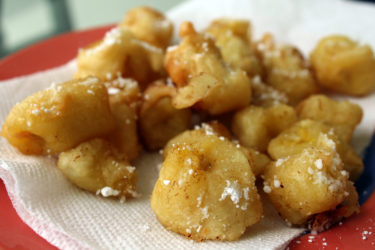 Banana Buñuelos, photo by Santiago Gomez de la Fuente