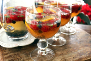 Spicy (and Non-Spicy) Champagne Sangria, photo by Fernanda Alvarez