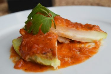 Chancletas de Pataste (Honduran Egg-Battered Chayote Squash), photo by Suellen Pineda, RDN, CDN