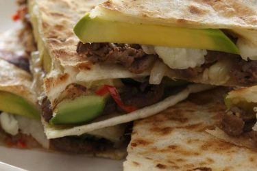 Cheesesteak Quesadillas With Hass Avocado, photo by Fresh Avocados - Love One Today