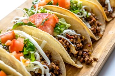 Classic Ground Beef Tacos, photo by Mexican Please