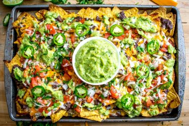 Spicy Black Bean Nachos, photo by Mexican Please
