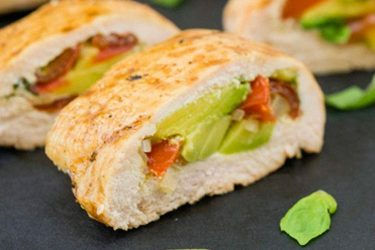 Avocado-Stuffed Chicken Breast Rolls, photo by Fresh Avocados - Love One Today