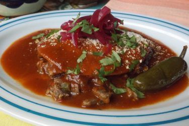 Steak Ranchero Beef Enchiladas, photo by Sonia Mendez Garcia