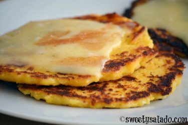 Arepas de Choclo (Sweet Corn Arepas), photo by Sweet y Salado