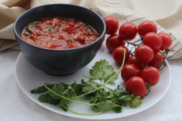 Roasted Tomato Salsa, photo by Jennifer Rice