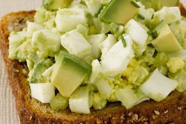 Avocado Egg Salad, photo by Fresh Avocados - Love One Today